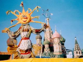 Масленица на Васильевском спуске