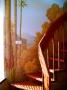 настенная роспись у лестницы. Фрагмент