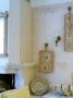 Роспись в особняке. Имитация старой штукатурки на стене и лепного узора на камине